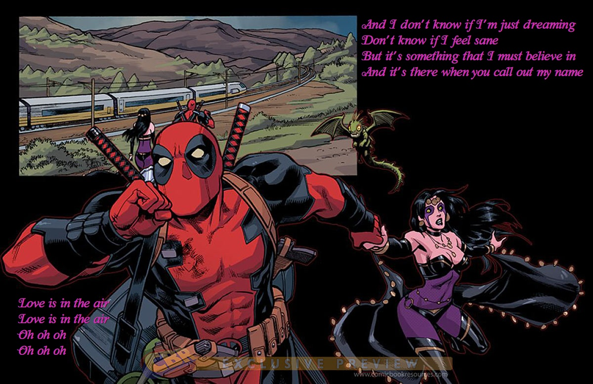 E a noiva do Deadpool é…