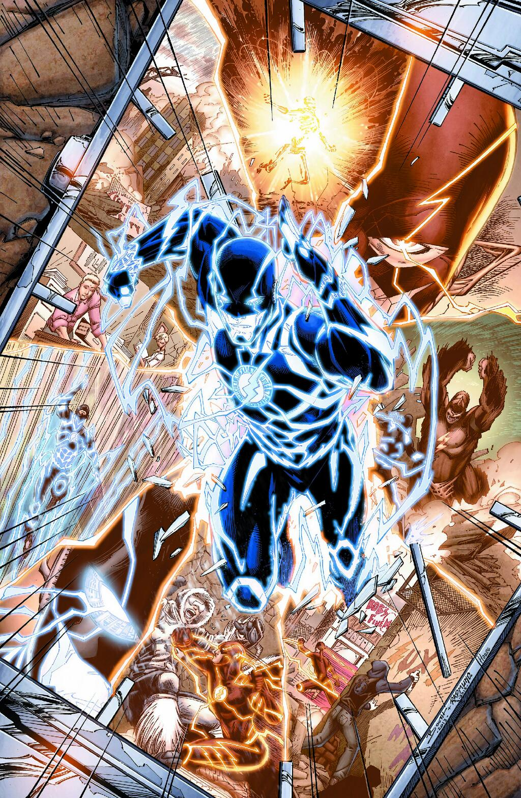 Novo time criativo pode trazer Wally West de volta
